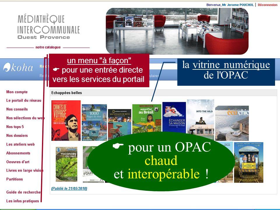 la vitrine numérique de l OPAC