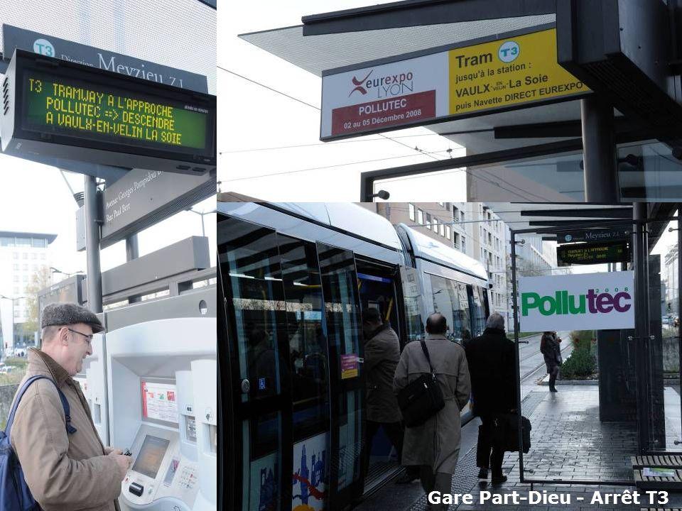 Gare Part-Dieu - Arrêt T3