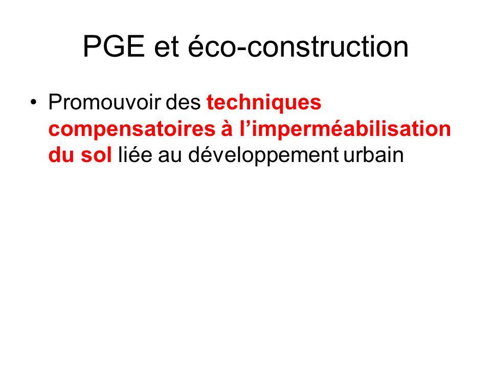 PGE et éco-construction