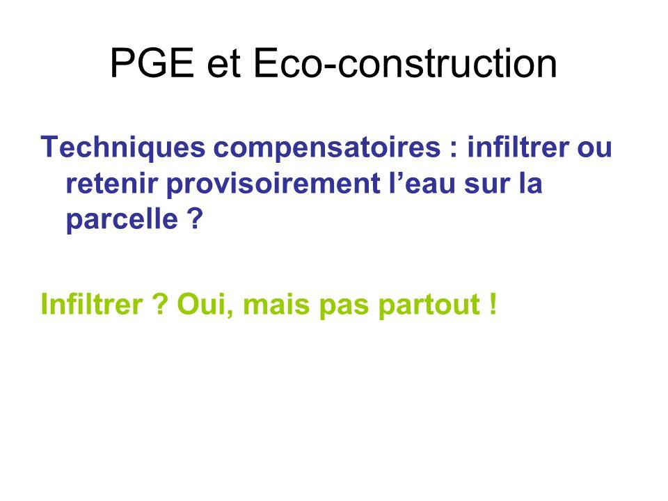 PGE et Eco-construction