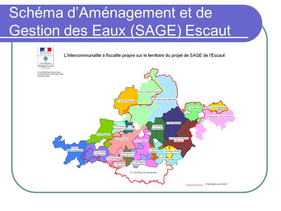 Schéma d'Aménagement et de Gestion des Eaux (SAGE) Escaut