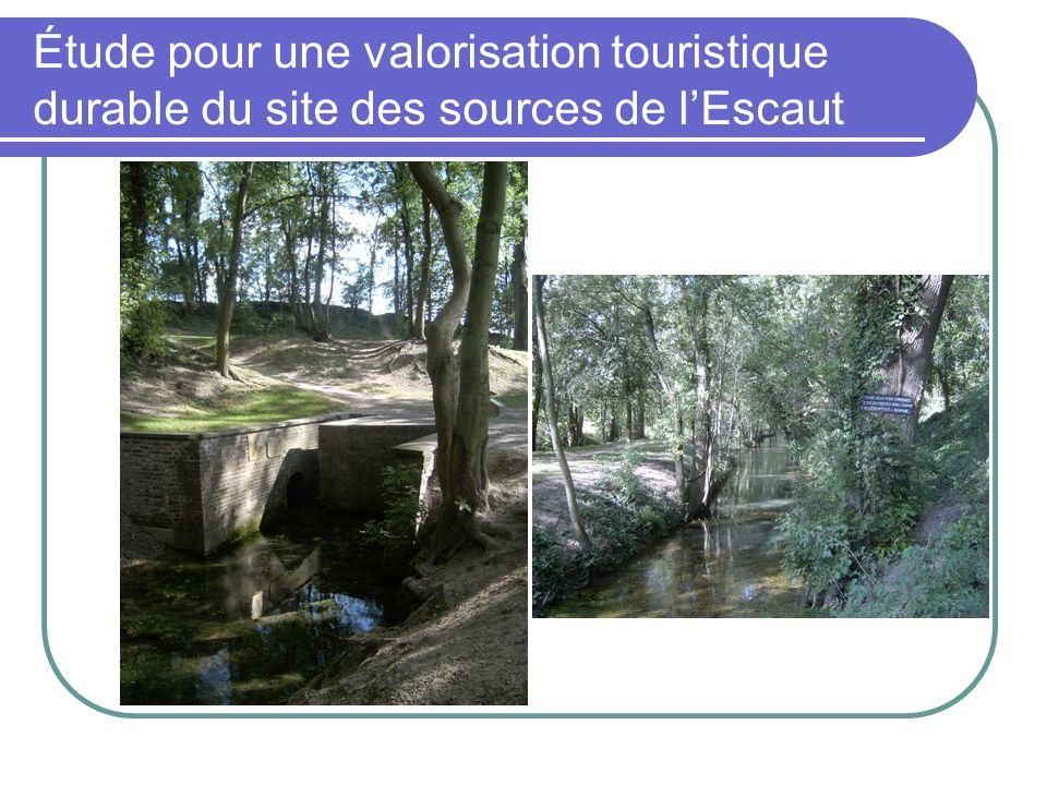 Étude pour une valorisation touristique durable du site des sources de l'Escaut
