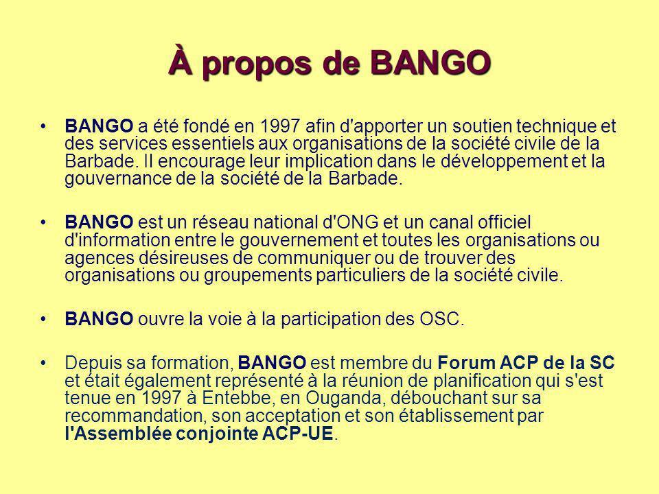 À propos de BANGO