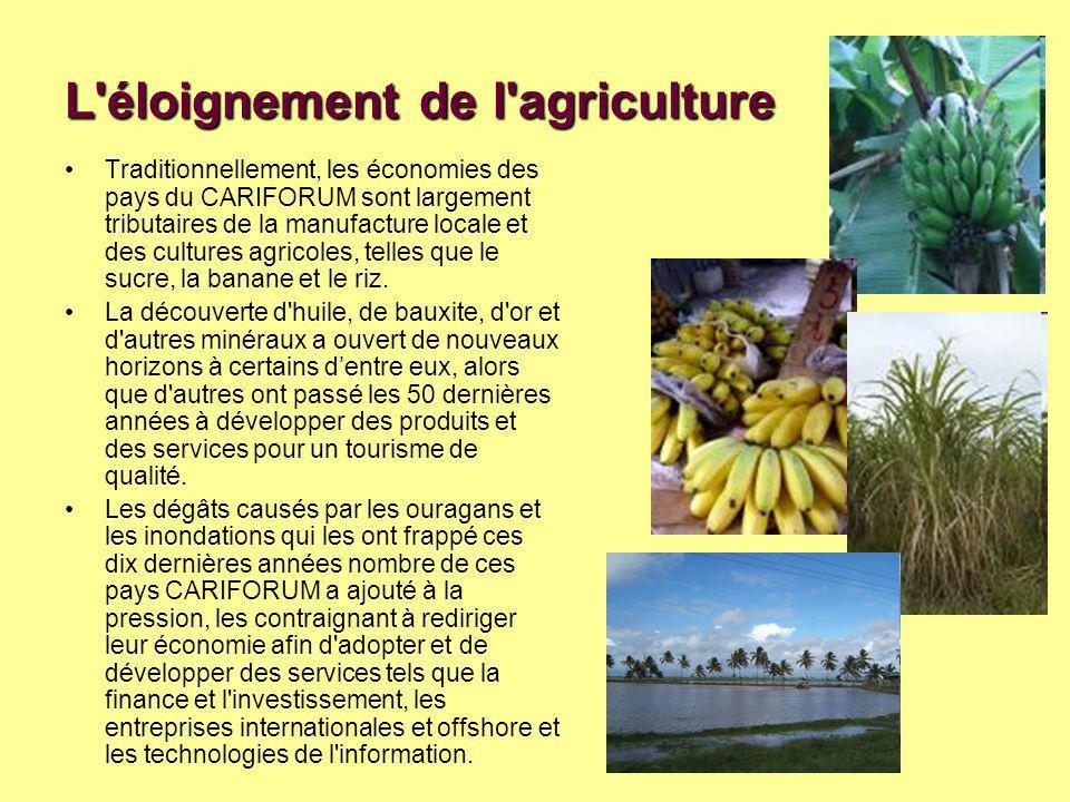 L éloignement de l agriculture