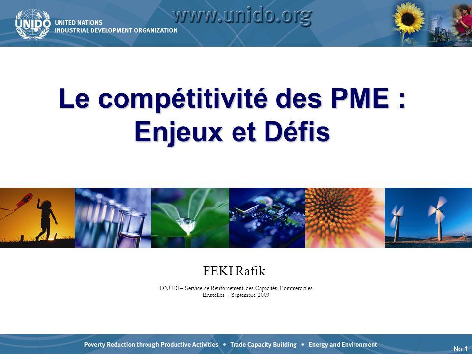 Le compétitivité des PME : Enjeux et Défis
