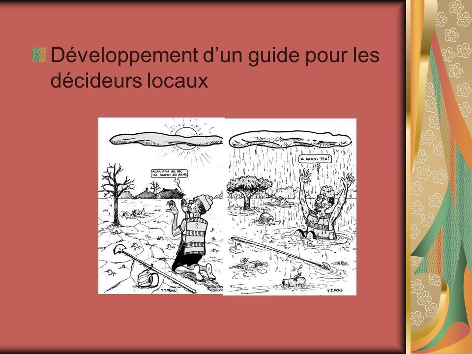 Développement d'un guide pour les décideurs locaux