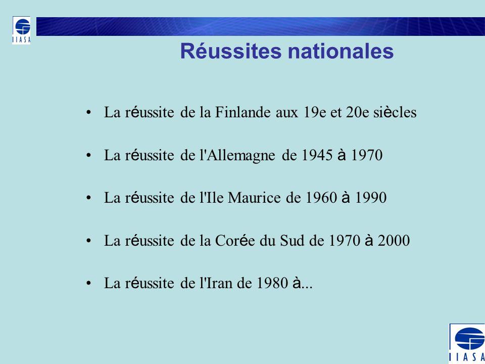 Réussites nationales La réussite de la Finlande aux 19e et 20e siècles