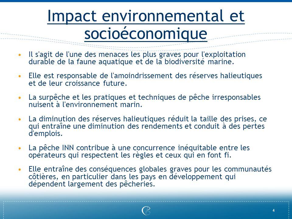 Impact environnemental et socioéconomique