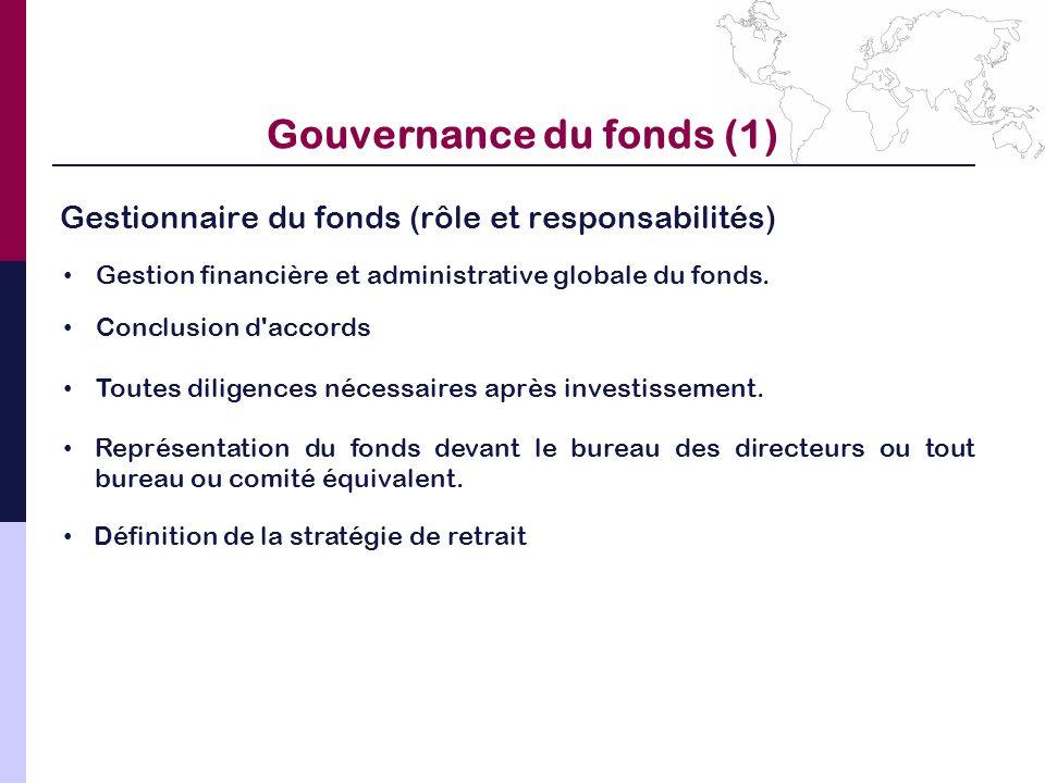 Gouvernance du fonds (1)