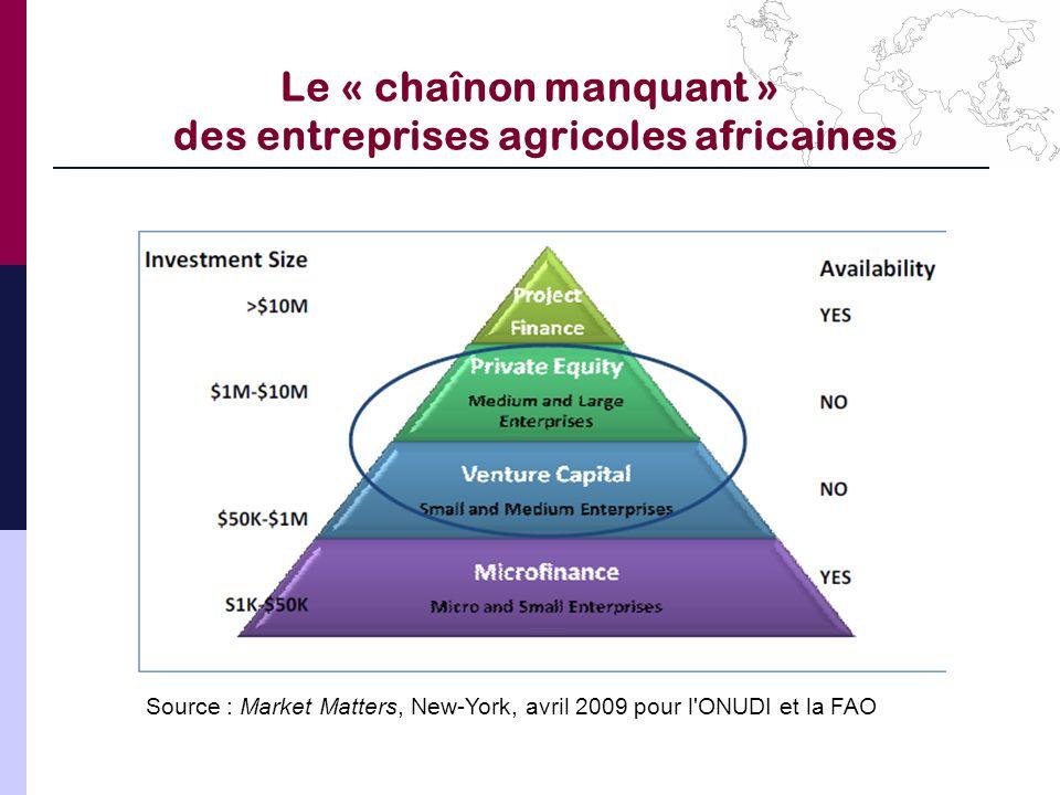 Le « chaînon manquant » des entreprises agricoles africaines