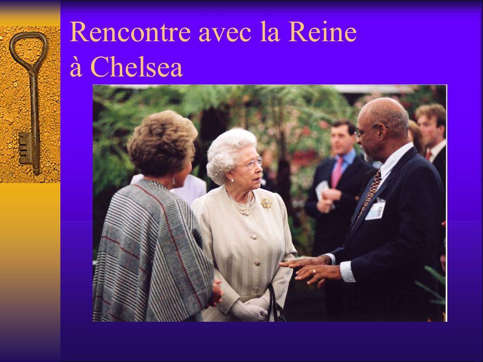Rencontre avec la Reine à Chelsea
