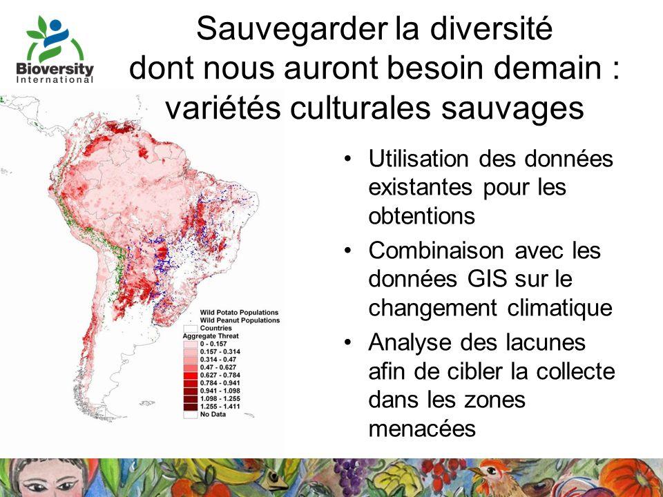 Sauvegarder la diversité dont nous auront besoin demain : variétés culturales sauvages