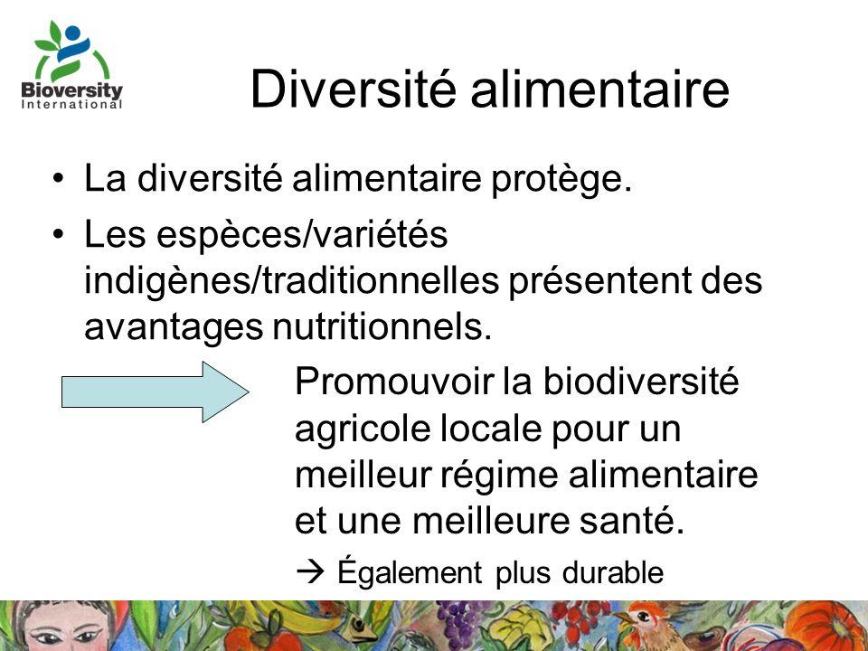 Diversité alimentaire