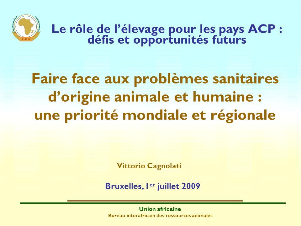 Le rôle de l'élevage pour les pays ACP : défis et opportunités futurs