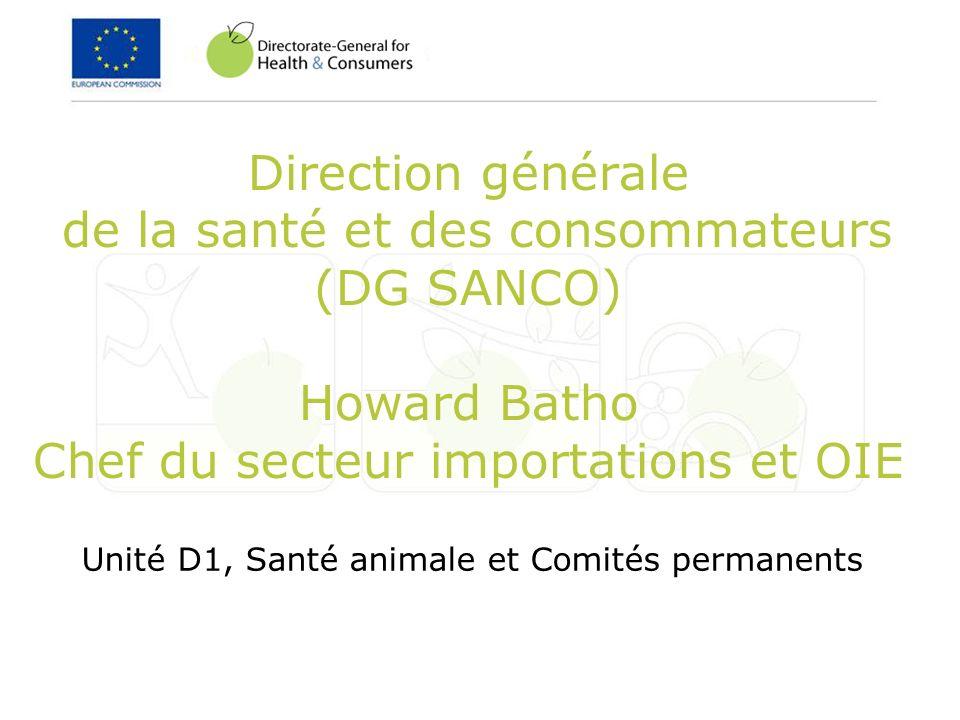 Unité D1, Santé animale et Comités permanents