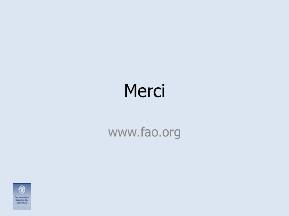 Merci www.fao.org