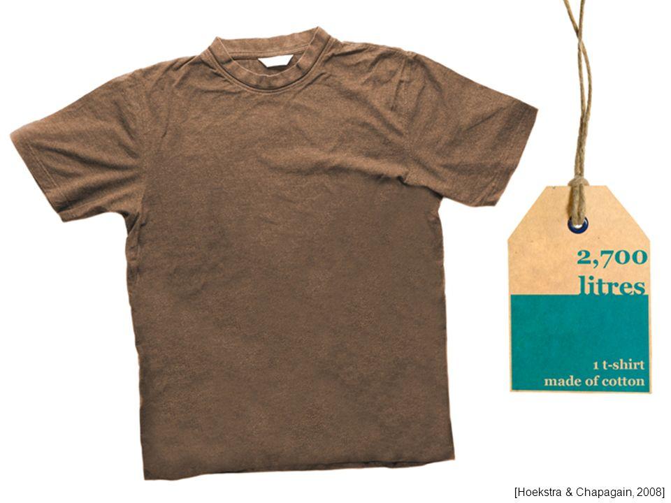 Empreinte hydrique : 2700 litres pour une chemise en coton