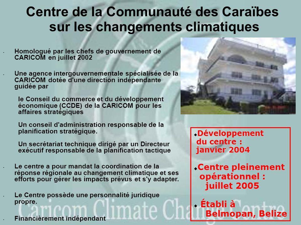 Centre de la Communauté des Caraïbes sur les changements climatiques