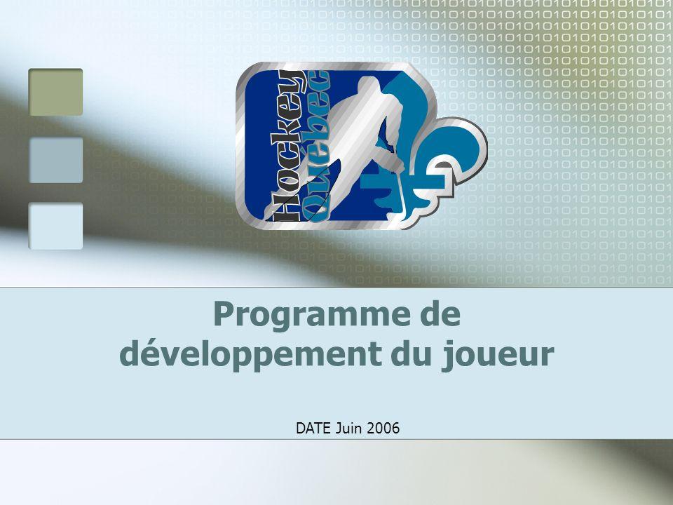 Programme de développement du joueur