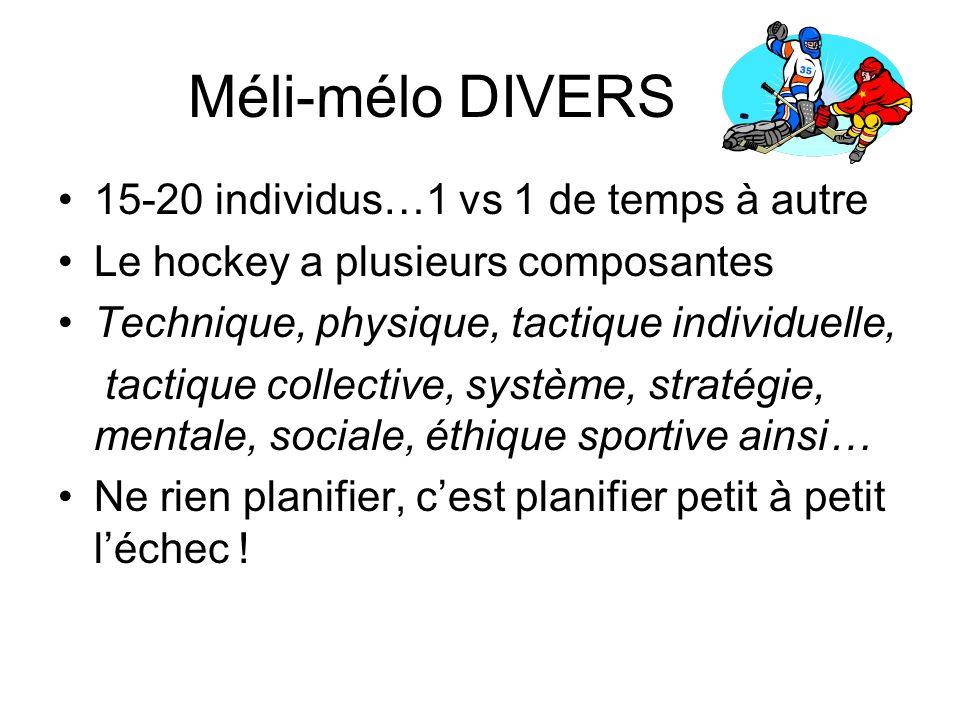 Méli-mélo DIVERS 15-20 individus…1 vs 1 de temps à autre