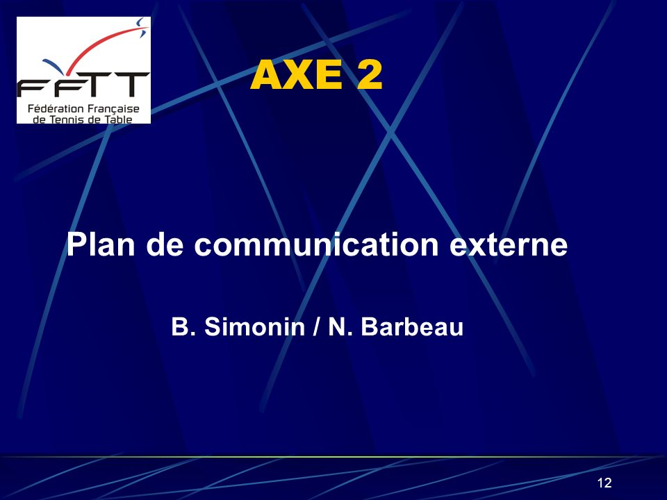 Plan de communication externe