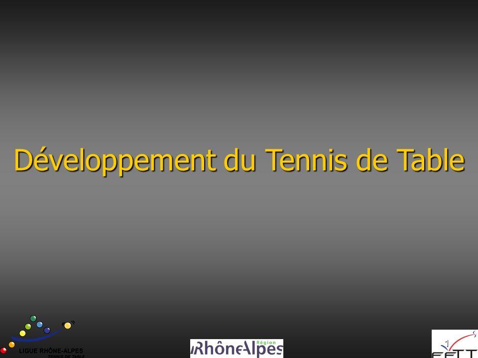 Développement du Tennis de Table
