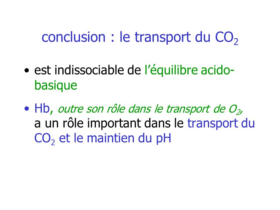 conclusion : le transport du CO2