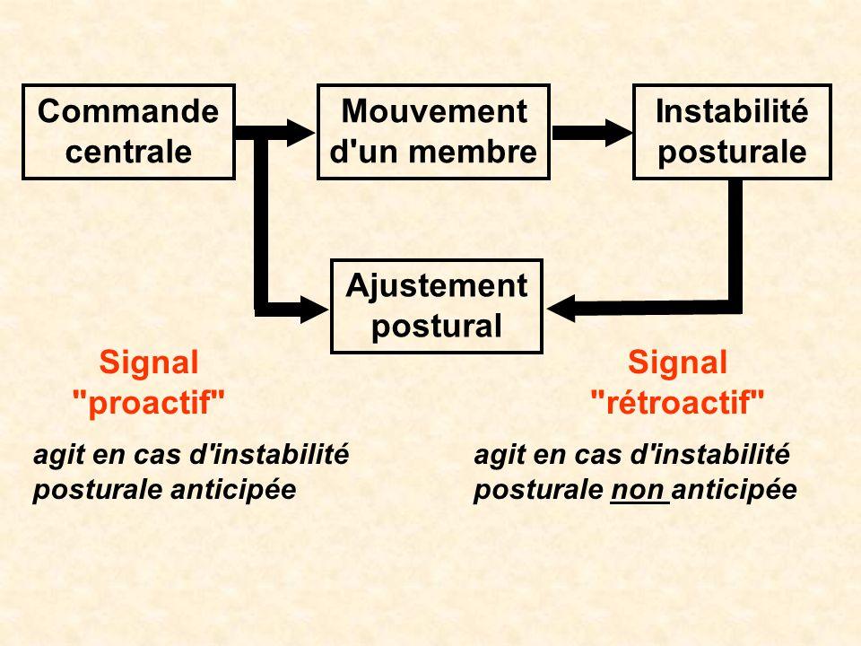 Instabilité posturale