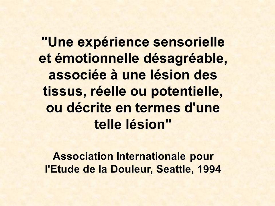 Association Internationale pour l Etude de la Douleur, Seattle, 1994