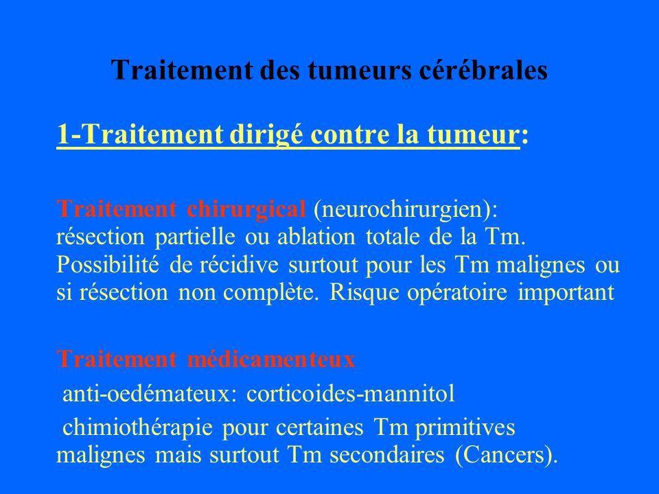 Traitement des tumeurs cérébrales