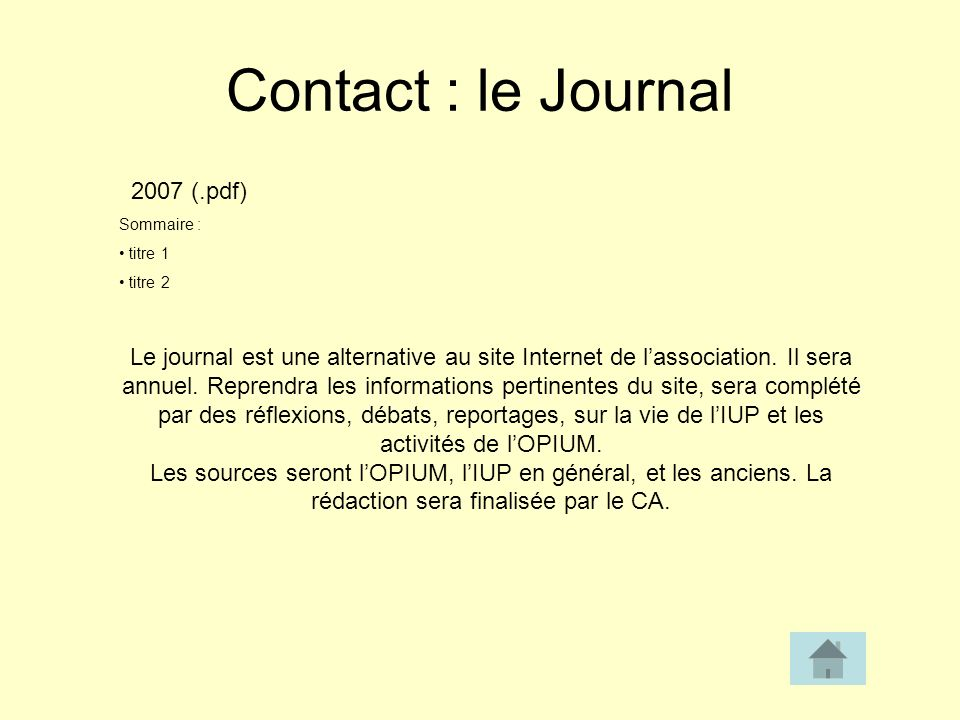 Contact : le Journal 2007 (.pdf)