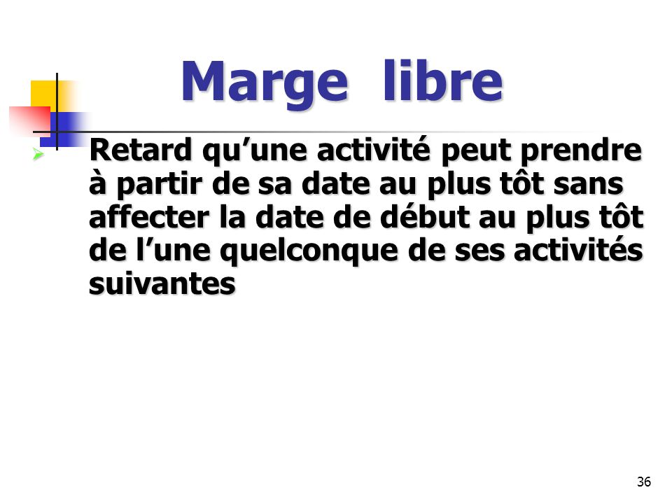 Marge libre