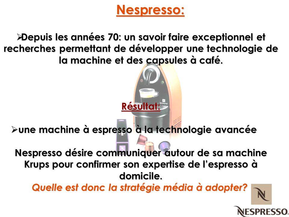 une machine à espresso à la technologie avancée