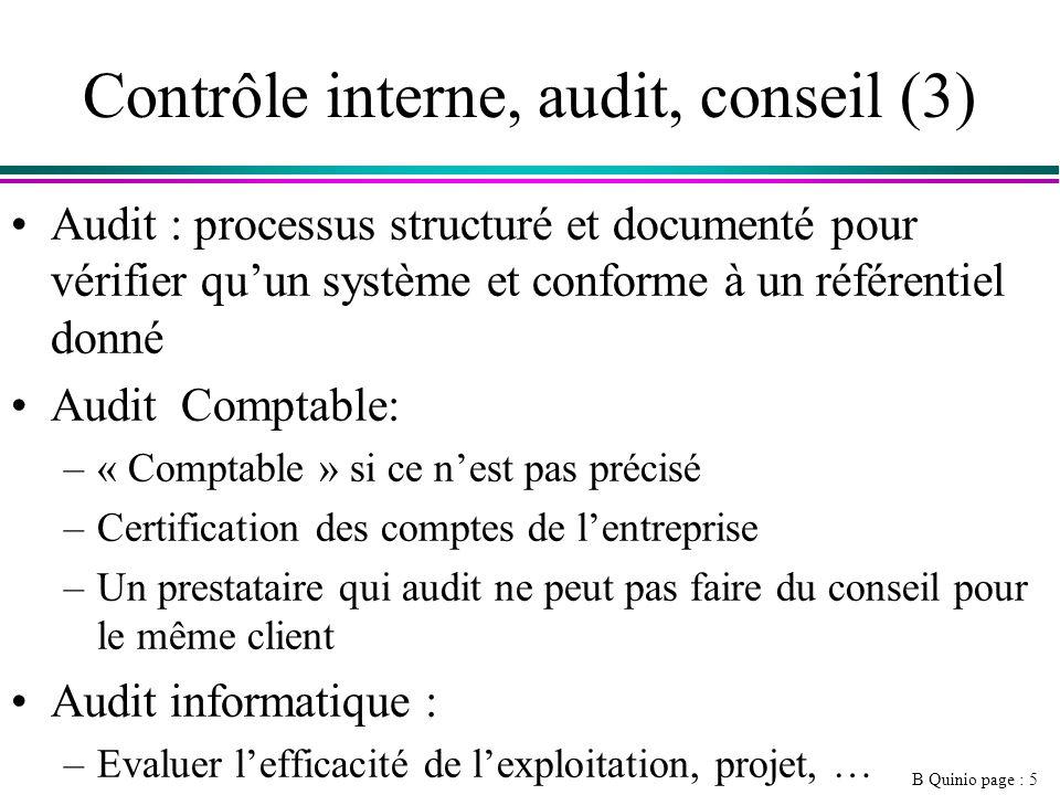 Contrôle interne, audit, conseil (3)