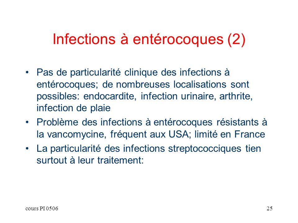 Infections à entérocoques (2)