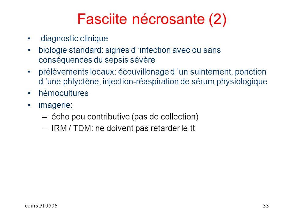 Fasciite nécrosante (2)