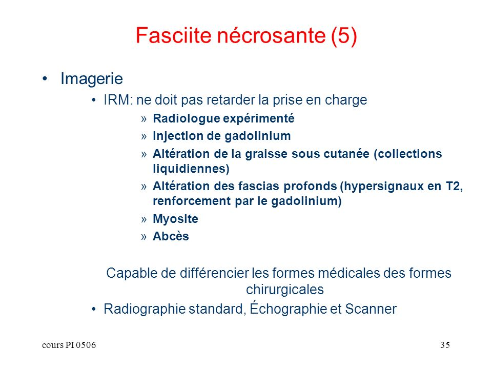 Fasciite nécrosante (5)