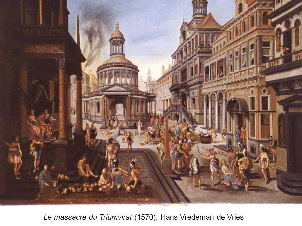 Le massacre du Triumvirat (1570), Hans Vredeman de Vries
