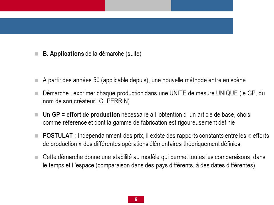 B. Applications de la démarche (suite)