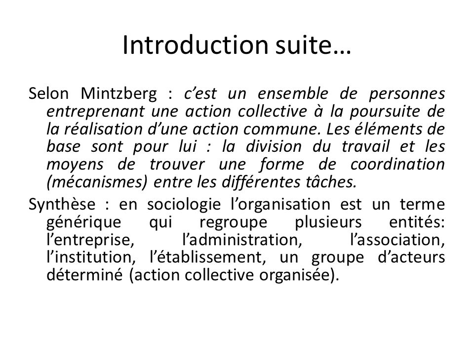 Introduction suite…