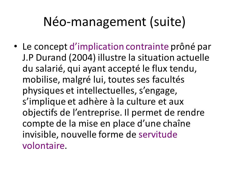 Néo-management (suite)