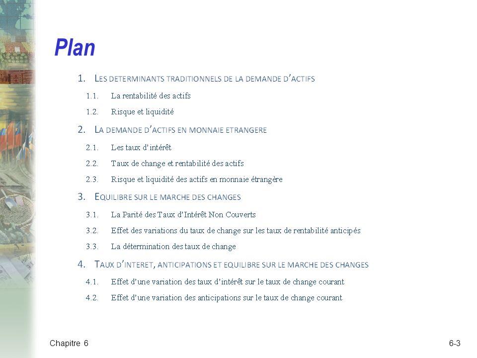 Plan Chapitre 6