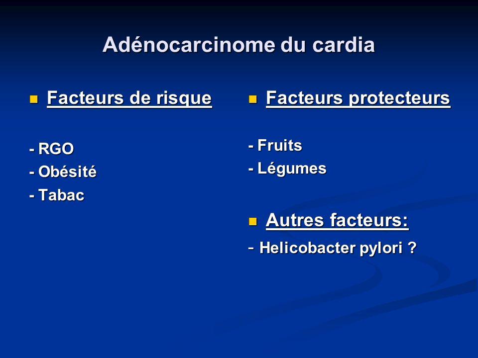 Adénocarcinome du cardia