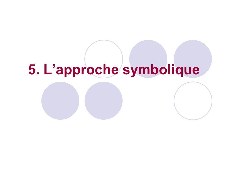 5. L'approche symbolique