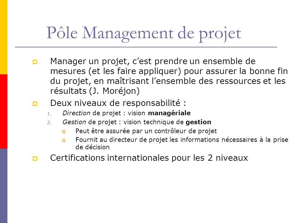 Pôle Management de projet