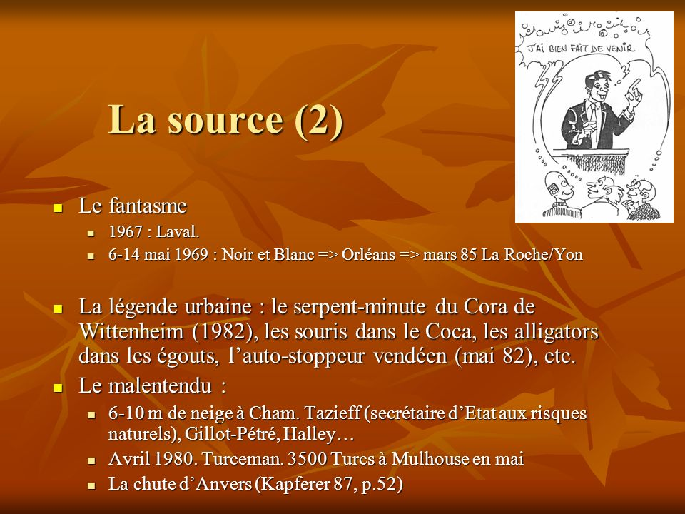 La source (2) Le fantasme