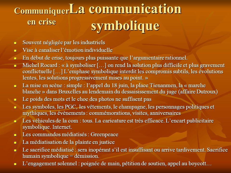La communication symbolique