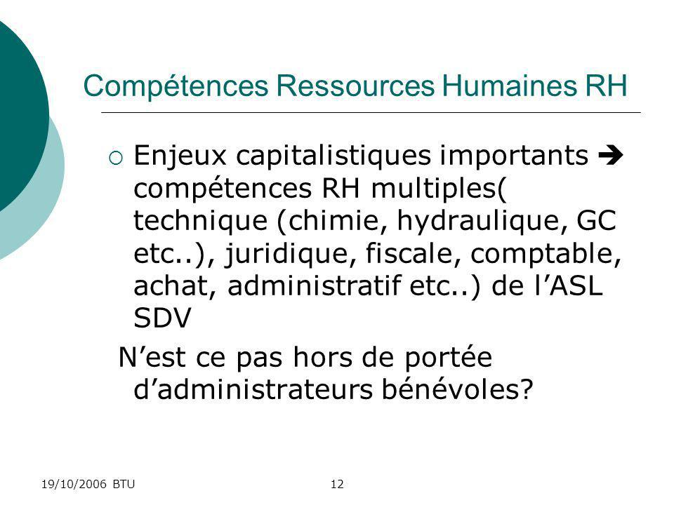 Compétences Ressources Humaines RH