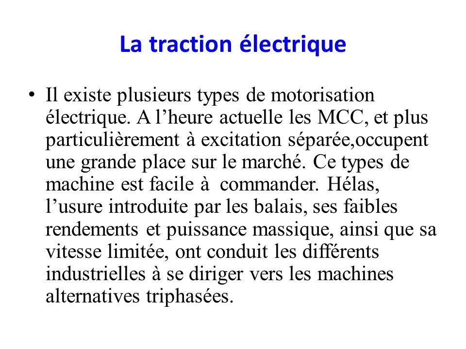 La traction électrique