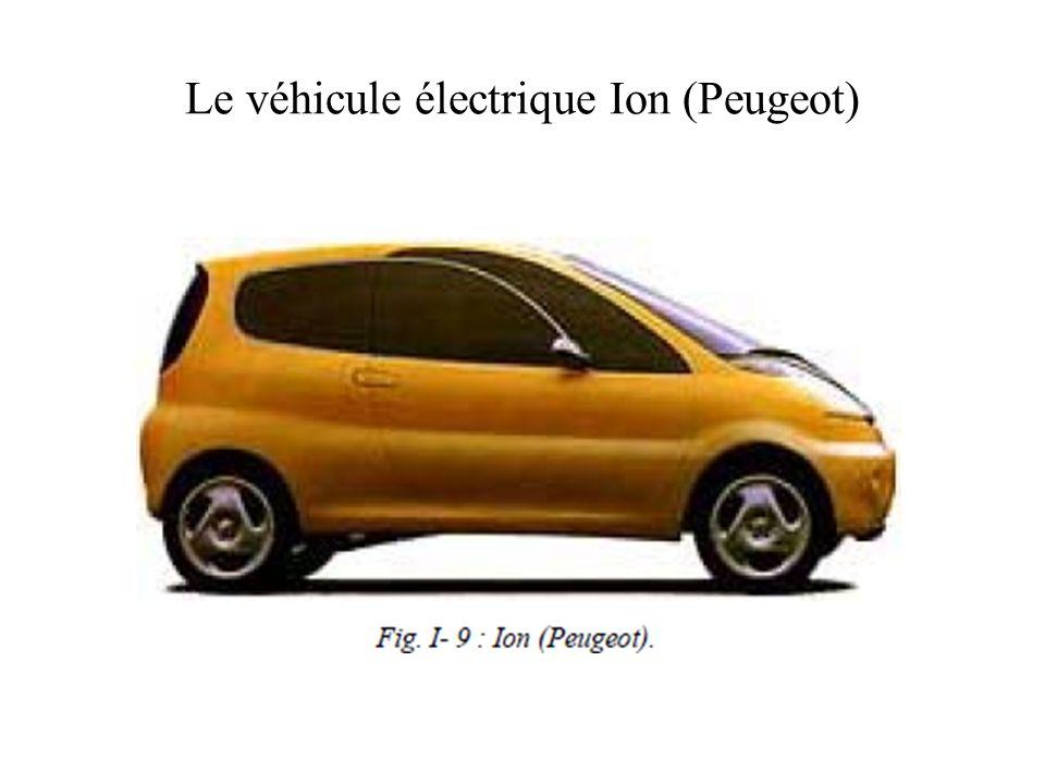Le véhicule électrique Ion (Peugeot)